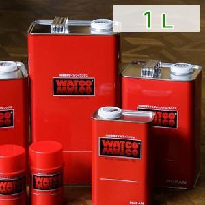 容量:1L(リットル)  世界の木材工芸で70余年にわたって実証された木材専用オイル塗料。  ワトコ...