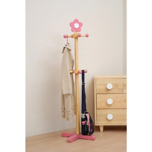 回転ポールハンガー(花・フラワー) キッズ家具 子供用|kagunoroomkoubou|02
