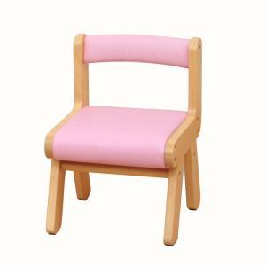 子供部屋 na-KIDS キッズ PVCチェアー ピンク 椅子 イス 子供 kagunoroomkoubou