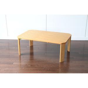 プロッシュテーブル 90 横幅90cm リビングテーブル ローテーブル センターテーブル ちゃぶ台 折りたたみ テーブル 折り畳み 天然木|kagunoroomkoubou