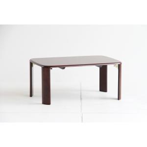 アジャストテーブル 75  横幅75cm リビングテーブル ローテーブル センターテーブル ちゃぶ台 折りたたみテーブル 折り畳み 木製|kagunoroomkoubou