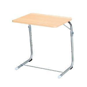 フォールディングサイドテーブルナチュラル FLS-1(NA) 折り畳みサイドテーブル 作業台 パソコンデスク|kagunoroomkoubou