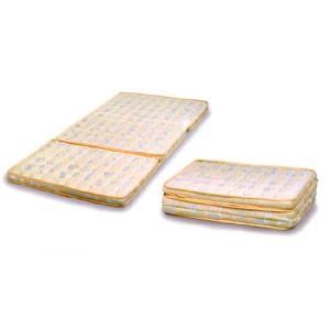 三つ折りパームマットレスS(シングルサイズ) (ベージュ)|kagunoroomkoubou