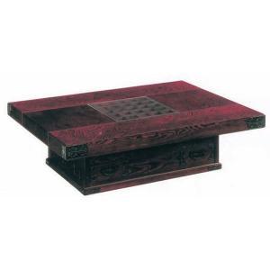 座卓 テーブル 机 幅120cm 木製 民芸家具 吉野民芸 完成品 受注製作品|kagunoroomkoubou