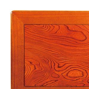 こたつ板 片面仕様 欅 ケヤキ 天板厚40mm 幅1350×奥行き900mm|kagunoroomkoubou