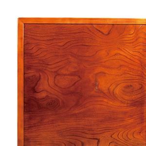 こたつ板 両面仕様 欅 ケヤキ 天板厚25mm 幅800×奥行き800mm|kagunoroomkoubou
