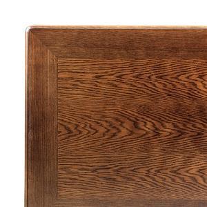 こたつ板 片面仕様 ナラ 天板厚40mm 幅800×奥行き800mm|kagunoroomkoubou
