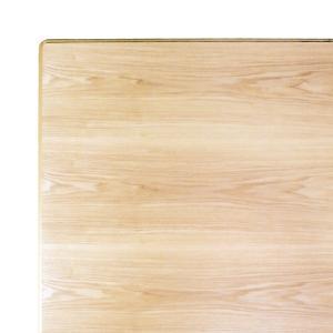 こたつ板 片面仕様 タモ ナチュラル 天板厚37mm 幅1200×奥行き800mm|kagunoroomkoubou
