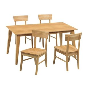ダイニングテーブルセット 5点 シエスタ 150テーブル チェア4脚|kagunoroomkoubou