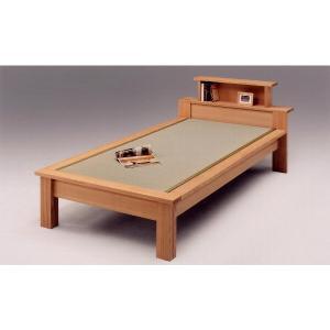 宮付きシングルベッド(畳ベッド たたみベッド タタミベッド) 魁|kagunoroomkoubou