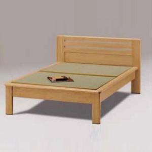 ダブルベッド 畳ベッド たたみ タタミ 仁 国産 和風 和モダン kagunoroomkoubou