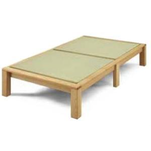セミダブルベッド 畳ベッド たたみ タタミ 山吹 国産 和風 和モダン 受注生産 kagunoroomkoubou