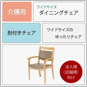肘付きチェア ダイニングチェア Care-AC-002-IN 2脚セット 介護椅子 高齢者向け 肘付き イス いす 法人様(店舗様)向け kagunoroomkoubou