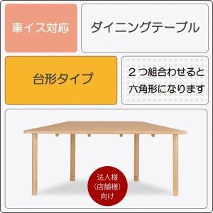 ダイニングテーブル Care-TT2 180×82 介護福祉施設 医療介護施設 車椅子対応 食卓 机 法人様(店舗様)向け kagunoroomkoubou