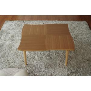 こたつ こたつテーブル リビングテーブル 座卓 国産 コタツ 暖卓 NAMI(ナミ) ウォールナット 80|kagunoroomkoubou