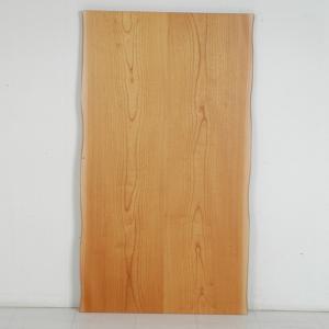 こたつ板 片面仕様 ケヤキ皮付き突板 天板厚37mm 幅1350×奥行き850mm|kagunoroomkoubou