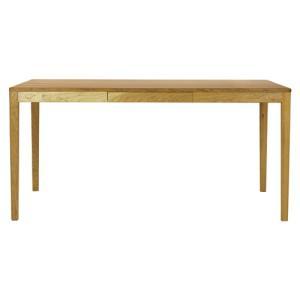 ダイニングテーブル テーブル 机 食卓 国産 日本製 ナチュラル 北欧 kiva 150 ブラックチェリー材|kagunoroomkoubou