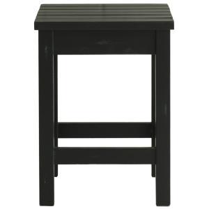 スツール 椅子 チェア イス サイドテーブル パイン材 無垢 アンティークブラック mam black line アロエ|kagunoroomkoubou