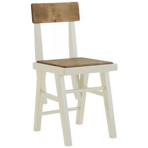 ダイニングチェア 椅子 イス いす チェア mam choke/チョーク WH/NA 1脚|kagunoroomkoubou