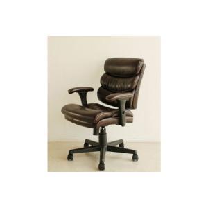 オフィスチェア 椅子 イス チェア ログ BR (ブラウン)|kagunoroomkoubou