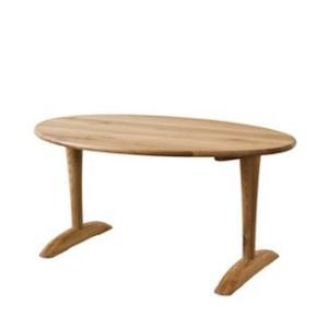 【飛騨産業】 森のことばibuki  テーブル(W165) FF373WP ナラ(節入り) 幅166cm OF色|kaguroom