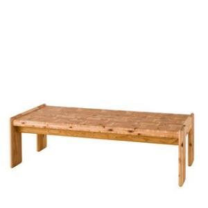 【飛騨産業】 cryptoクリプト リビングテーブル スギ木口集成サンド材  KC102BP(W125)スギ|kaguroom