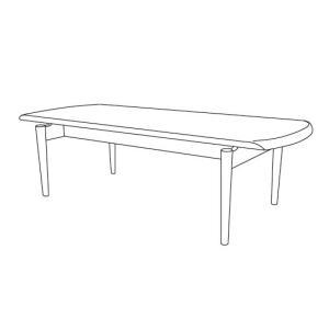 【飛騨産業】 セオト リビングテーブル kd102tb|kaguroom