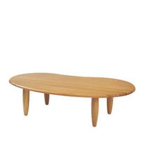 【飛騨産業】 クレセント CRESCENT センターテーブル(W145) SB128T OU色|kaguroom