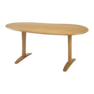 【飛騨産業】 クレセント CRESCENT テーブル(W145) SB326WP OU色|kaguroom