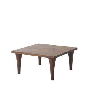 【飛騨産業】 森のことばWalnut コーナーテーブル(ハイ)  SW105SH ウォルナット(節入り)|kaguroom