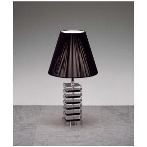 テーブルスタンド照明器具 ブラックスタンドラグジュアリーミッドセンチュリー・デザイナーズ・モダン間接照明 LEDランプ照明 ERF2026C|kaguselect-com