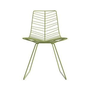 ダイニングチェアーアウトドアガーデンチェアLeaf Sled Chair  arper社イタリア製 muc0279|kaguselect-com