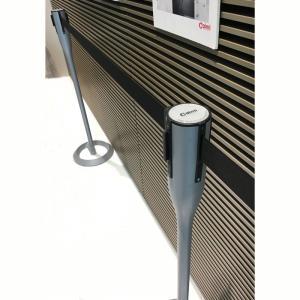 ベルトパーテーション屋外設備 ゲートポール caimi イタリア製 muw0043|kaguselect-com