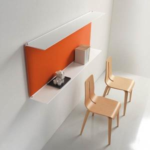 おしゃれな壁面飾り棚シンプルおしゃれ壁ディスプレイ棚caimi イタリア製 1段セット muw0082-1-84-2|kaguselect-com