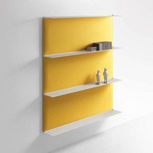 おしゃれな壁面飾り棚シンプルおしゃれ壁ディスプレイ棚caimi イタリア製 3段セット muw0082-3-84-4|kaguselect-com