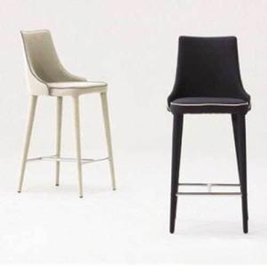 おしゃれカフェハイチェアカウンターチェアスタンド椅子 仕上レザー色3種完成品 店舗業務用家具myc1020|kaguselect-com