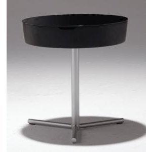 サイドテーブル天板500丸カフェテーブルコーヒーテーブルテーブル強化ガラス収納付myt0115|kaguselect-com