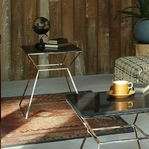 ラグジュアリーな大理石天板ーテーブル
