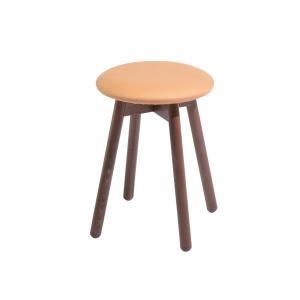 木製スツールチェアイタリア製LaSediaスツール piccolo-w-mocha|kaguselect-com