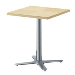 カフェテーブルコーヒーテーブル60×60業務用店舗用家具ホワイトアッシュ装飾天板2種類 st910e-ft723e|kaguselect-com