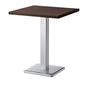 カフェテーブル60×60cmメラミン木縁3色コーヒーテーブル 業務用家具店舗用家具st940e-bt300t|kaguselect-com