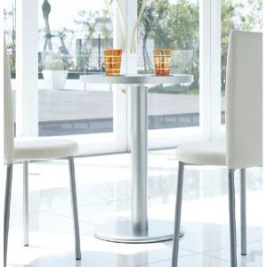 カフェテーブルアルミエッジアメリカンスタイル丸型テーブル60cmメラミン天板4色業務用家具店舗用家具 st950t-at118a|kaguselect-com