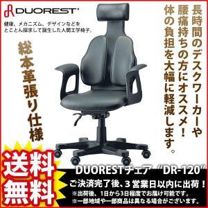 デスクチェア『DUOREST総本革張りチェア DR-120』|kaguto