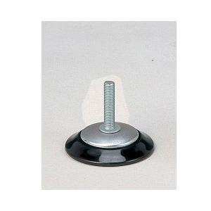 マルチレッグ用アジャスター (4個セット J-1_BK*4) 幅6.5cm 奥行き6.5cm 高さ5.5cm アジャスター テーブル脚用オプションパーツ テーブル 脚 パーツ 送料無料|kaguto
