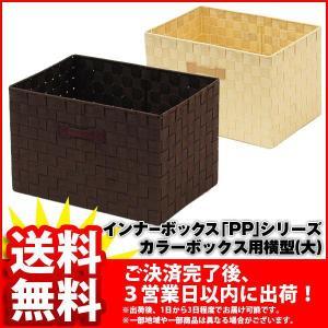 インナーボックスPP (単品 PPB-06)幅39cm 奥行き27cm 高さ25cm 収納ボックス インナーボックス 送料無料 カラーボックス用収納ケース 小物収納 小物入れ|kaguto