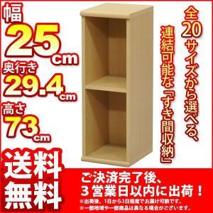 『すき間収納棚[幅25cm]サーフ』(SA-NA725)|kaguto
