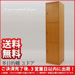 すき間収納『(S)多目的棚 3ドア』隙間収納ラック 収納棚 収納家具 扉付き 通販|kaguto