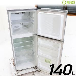 美品 MORITA 冷蔵庫 2ドア 140L ファン式 MR-F140D-S 右開き 京都在庫 CG3194|kaguya-interior
