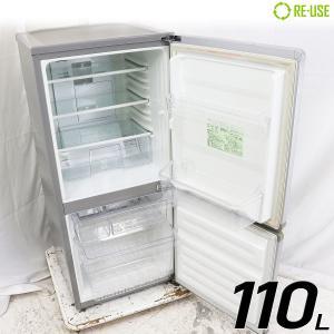 訳あり特価品 MORITA 冷蔵庫 2ドア 110L ファン式 MR-J110CC-S 右開き 京都在庫 CJ4661 kaguya-interior