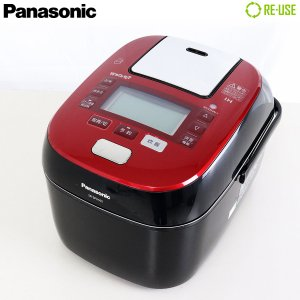Panasonic 圧力IH炊飯ジャー 5.5合 Wおどり炊き スチーム&可変圧力 2015年製 SR-SPX105-RK 京都在庫 SJ0655|kaguya-interior